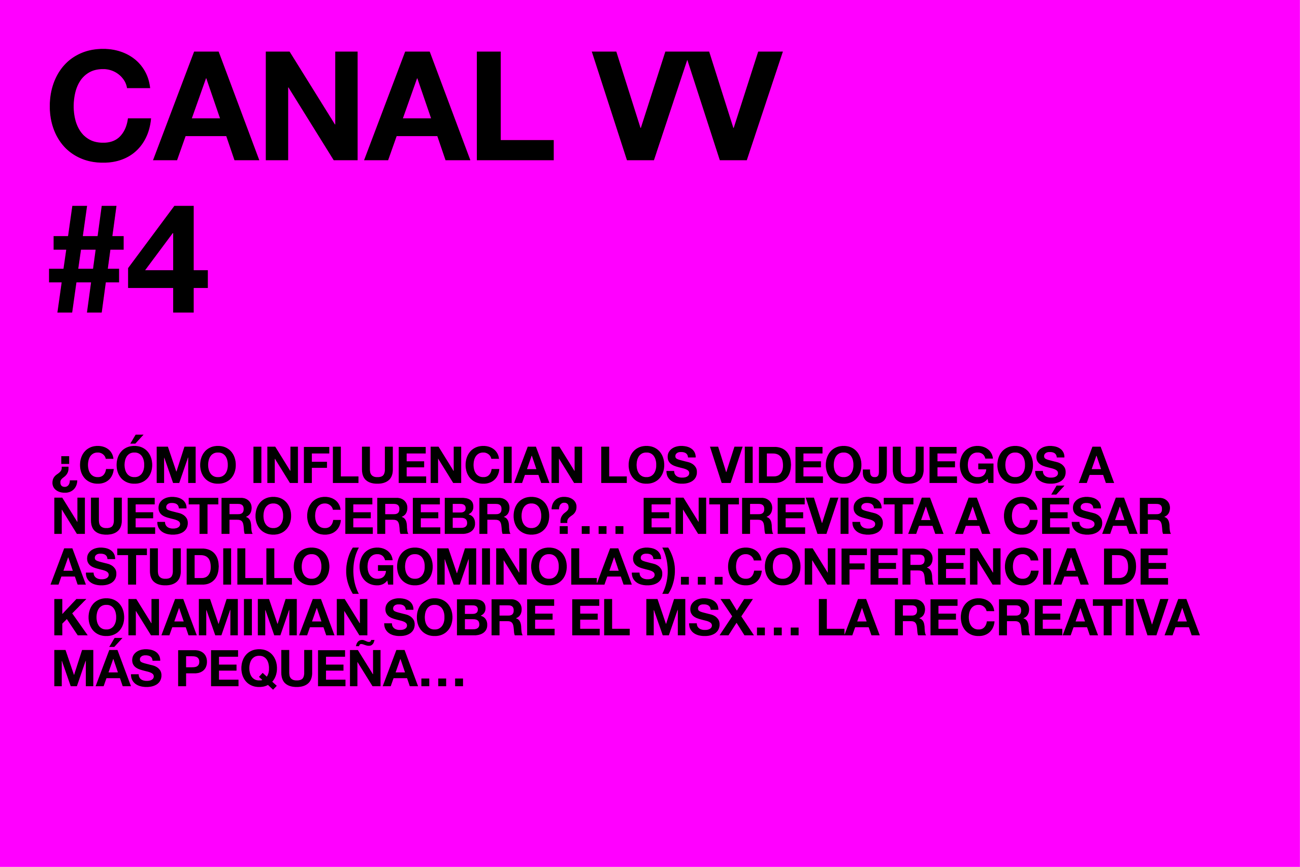 Canal VV